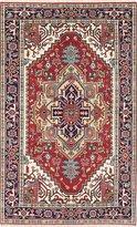 Ecarpetgallery eCarpet Gallery 218134 Hand-Knotted Serapi Heritage Medallion Corners 4' x 8' 100% Wool Area Rug