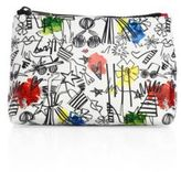 Alice + Olivia Stace Face Cotton Canvas Pouch