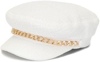 Eugenia Kim Marina chain-trim hat