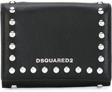 DSQUARED2 Icon snap stud wallet - women - Calf Leather - One Size