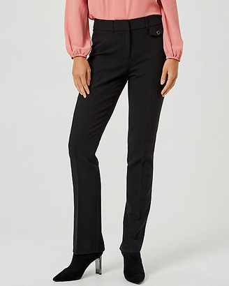 Le Château Double Weave Slight Flare Leg Pant