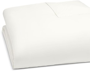 Matouk Luca Satin Stitch Duvet Cover, Full/Queen
