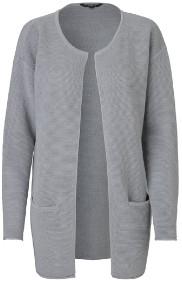 MBYM Linette Grey Cardigan - S/M - Grey