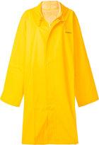 Vetements Hooded raincoat