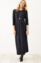 J. Jill Pleated Knit Maxi Dress