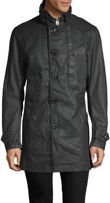 G Star Raw Raglan-Sleeve Trench Coat
