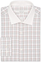 Perry Ellis Slim Fit Checkered Frame Dress Shirt