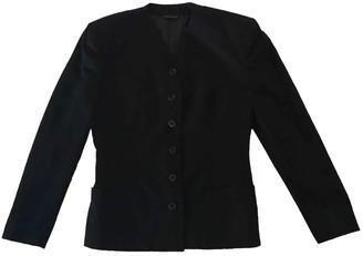 Gianni Versace Black Wool Jackets
