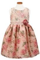 Sorbet Girl's 'Blush' Floral Chiffon Dress