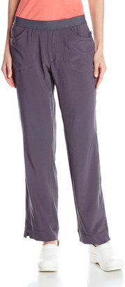 Cherokee Women's Petite Infinity Low-Rise Slim Pull-On Pant