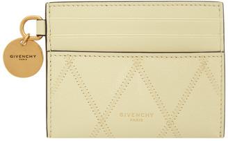 Givenchy Yellow GV3-3 Card Holder
