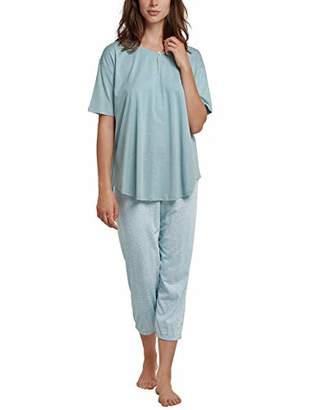 Schiesser Women's Anzug 3/4, 1/2 Arm Pyjama Set, (Size: )