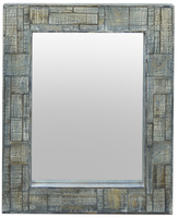 Three Hands Rectangular Wall Mirror