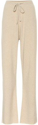 Extreme Cashmere N 142 Run cashmere-blend trackpants