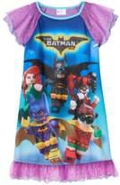 Girls 4-10 The LEGO Batman Movie Robin & Batgirl Teamwork Nightgown