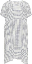 Junarose Plus Size Crinkle effect graphic print dress