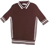 Tory Burch Brown Cotton Top