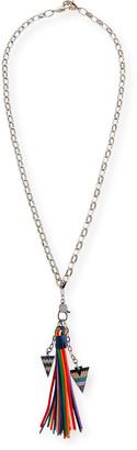 Azalea Hipchik Tassel Chain Necklace