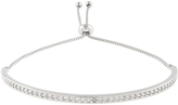 Accessorize Platinum Sophia Crystal Friendship Bracelet