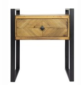 Jakin End Table with Storage Foundry Select Table Top Color: Brown