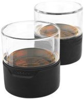 Metrokane Rabbit Whiskey Glasses, Set of 2