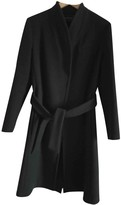 Cédric Charlier Green Wool Coat for Women