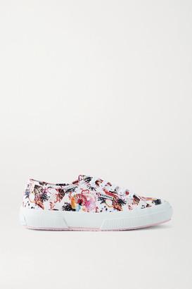Mary Katrantzou MARY-MARE + Superga Printed Canvas Sneakers - White