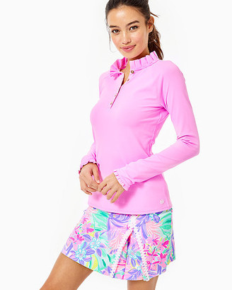 Lilly Pulitzer UPF 50+ Luxletic Hutton Polo Top