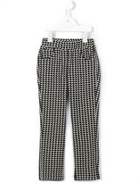 Simonetta patterned trousers