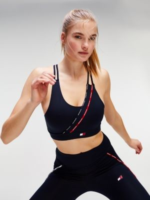 Tommy Hilfiger Low Support Double Strap Sports Bra