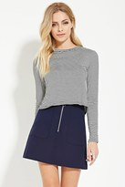 Forever 21 FOREVER 21+ Contemporary Mini Skirt