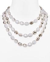 "BaubleBar Tiffany Beaded Necklace, 16"""