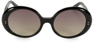 Celine CL40065I 57MM Round Sunglasses