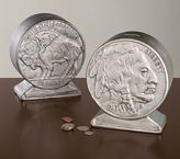 Pottery Barn Kids Nickel Coin Bank