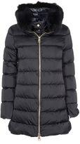 Herno Fur Trim Hooded Down Jacket