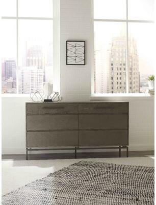 Tommy Hilfiger Ascher 6 Drawer Double Dresser