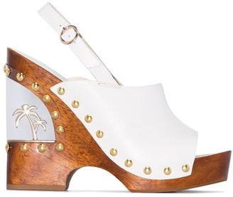 Sophia Webster Paradise wedge sandals