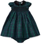 Ralph Lauren Plaid Silk Dress & Bloomer