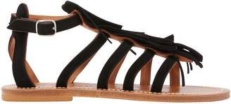 K. Jacques Fregate sandals with fringes