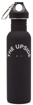 The Upside Logo-print Water Bottle - Black
