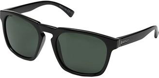 Von Zipper VonZipper Banner (Black Gloss/Vintage Grey) Sport Sunglasses