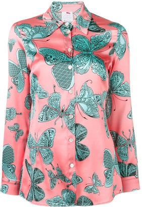 Ultràchic butterfly print shirt