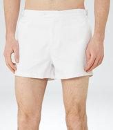Reiss Reiss Napa - Adjustable Swim Shorts In White