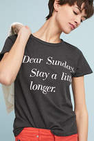 Junk Food Clothing Dear Sunday Graphic Tee