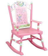 Levels of Discovery Fairy Wishes Kids Rocking Chair