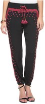 Juicy Couture Crepe Embroidered Pant