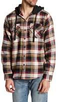Burnside Hooded Plaid Shirt