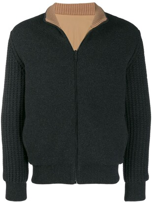 Ermenegildo Zegna Zipped Knitted Cardigan