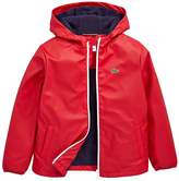 Lacoste Boys Hooded Windbreaker Jacket