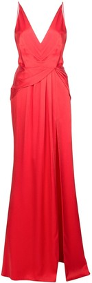 Jason Wu Collection Gathered Draped Gown